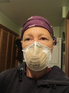 Why a dust mask is essential!